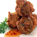 Chicken and Vegetable Pakoras
