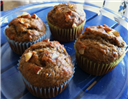 Eggless Almond Banana Cupcake