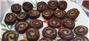 Almond Choco Rolls