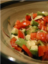 Avocado Tomato Salad recipe