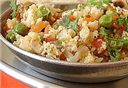Egg Burji with Vegetable