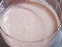 Chikoo milk shake