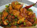 Spicy chicken chilly