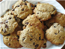 Whole Wheat Choco Chip Cookies (Eggless)