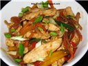 Thai Chicken in Spicy Peanut Sauce