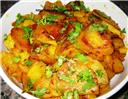 Dhaniya Aloo Bhaji