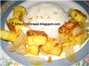 Curd Paneer with Butter Rice