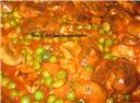 Marinara Mushroom and Peas