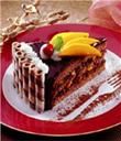 mango truffle cake
