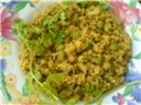 cauliflower peas egg kaima