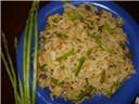 Asparagus Tofu Rice