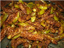 Tondli Chi Bhaji (Kovakkai Podi Potta Curry)