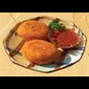 Potato & burgul Kibbah