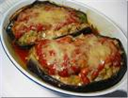 Baked stuffed egg plants