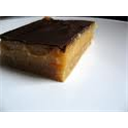 Sticky toffee slice