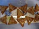 sweet Arabian samosas