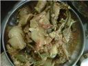 Mastkalandar Bhindi with Pototo & Onion