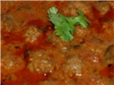 meat ball curry