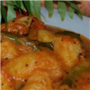 Sweet potato in imli curry