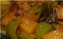 Potato capsicum masala