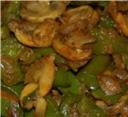 capsicum mushroom fry