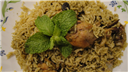 Chicken mint pulav