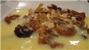 Dry fruits in cream sauce