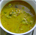 Green Chicken Korma