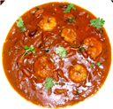 Prawns with Rajma Curry