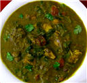 Palak Chicken Masala