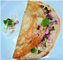 Ragi Onion Dosa/Uthappam