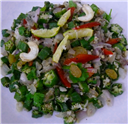 Okra Onion Salad