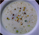 China Grass (Agar agar) Payasam