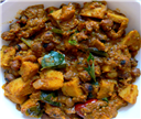 Yam and Channa Masala