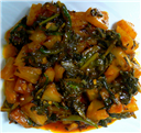 Palak Pineapple Curry