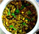 Frenchbeans-Peas Masala