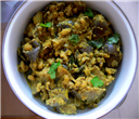 Brinjal-Karamani Curry