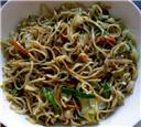 Quick Mushroom Noodles