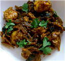 Spicy Lamb-Brain Masala