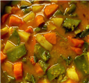 Mixed Veg Dhal Curry