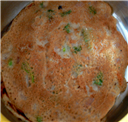 Wheat-Oats Dosa