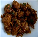 Chicken Manchurian - a variation
