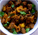 Mutton-Potato Fry