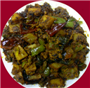 Potato-Capsicum Masala-a variation
