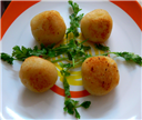 Potato Cheese Balls-a variation
