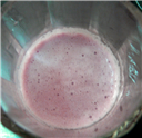 PomeGrape Soy Smoothie