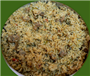 Mutton Keema Biryani-a variation