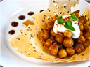 Sweet & Spicy Chola Chaat