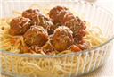 Pasta With Mince Balls