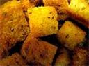 Masala croutons